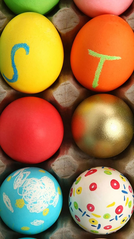 EASY EASTER CRAFTS - IDEAS FOR EASTER DIY 17