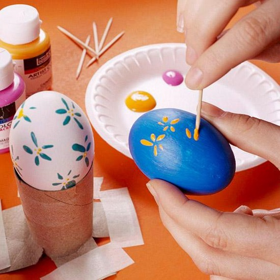 EASY EASTER CRAFTS - IDEAS FOR EASTER DIY 18