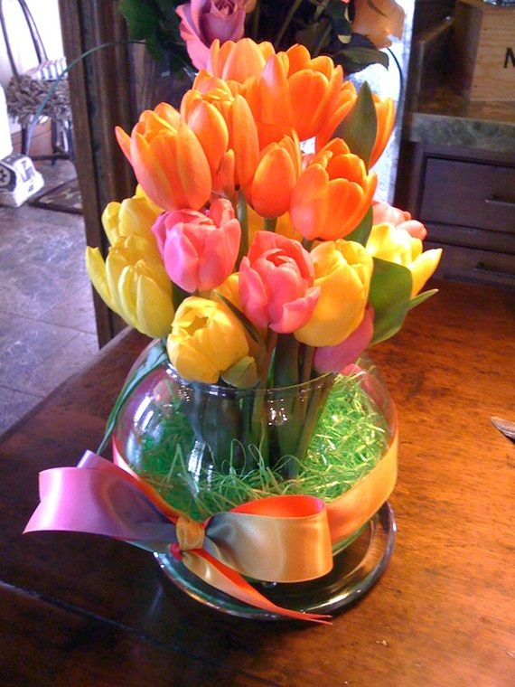 spring flowers home remodeling ideas 15
