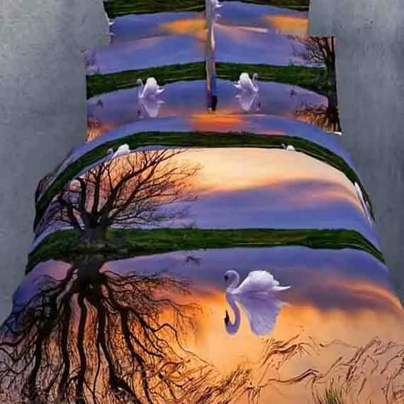 50 3D bedding sets ideas for your home 17