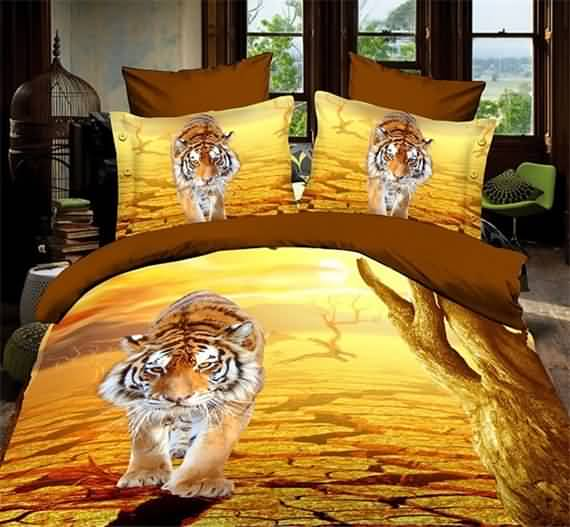 50 3D bedding sets ideas for your home 25