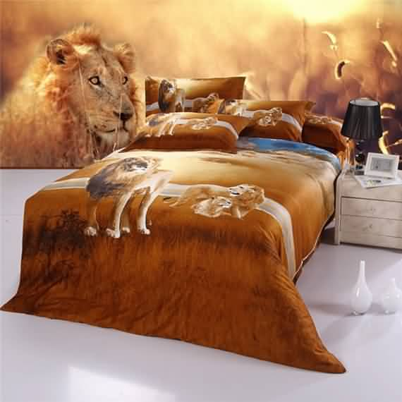 50 3D bedding sets ideas for your home 39
