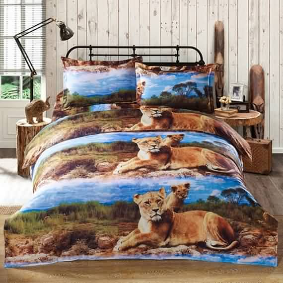 50 3D bedding sets ideas for your home 41