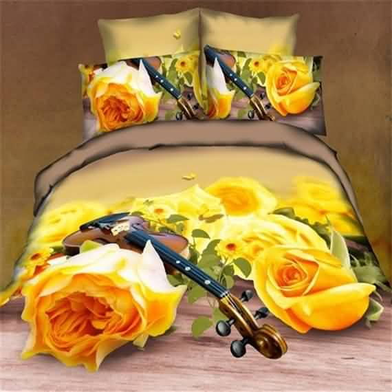 50 3D bedding sets ideas for your home 46