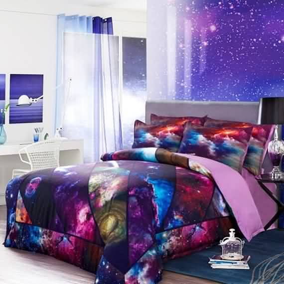 50 3D bedding sets ideas for your home 7
