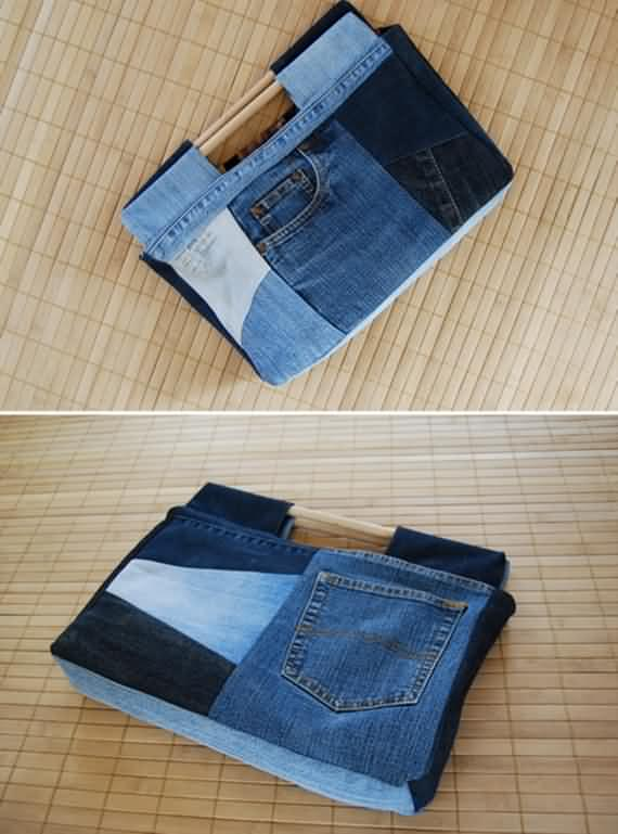 65 recycling ideas for old jeans   4 ur break   family