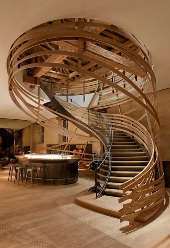60 Very Unique Staircases Ideas 1