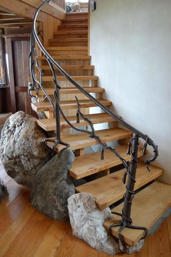 60 Very unique staircases ideas 17