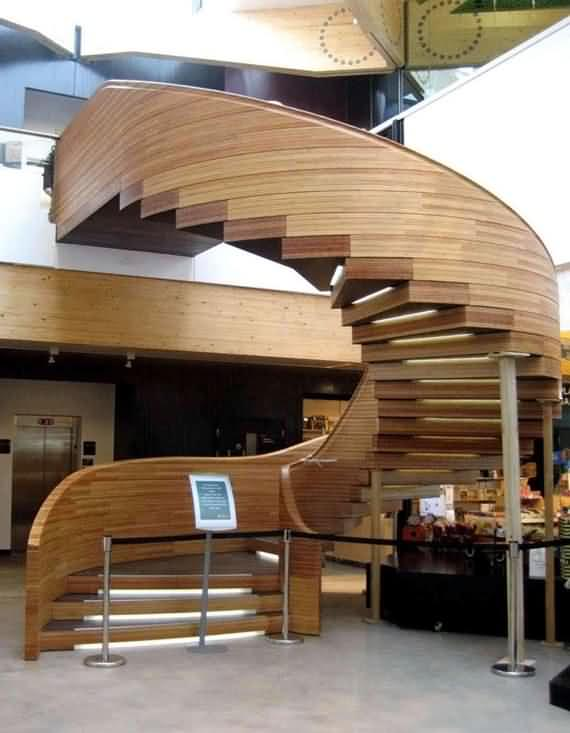 60 Very unique staircases ideas 20