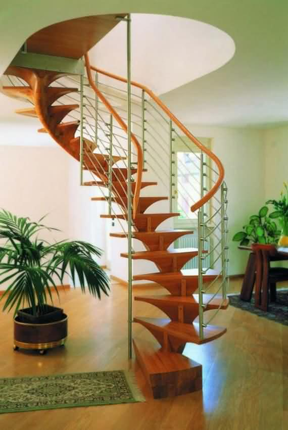 60 Very unique staircases ideas 23