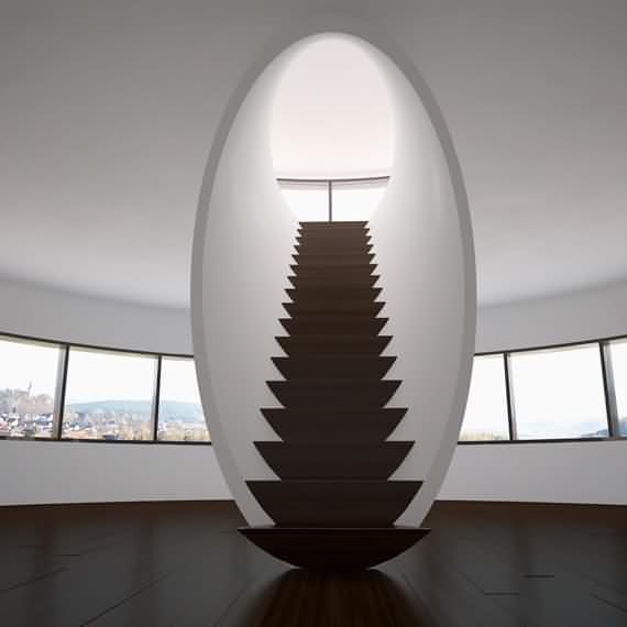60 Very unique staircases ideas 25