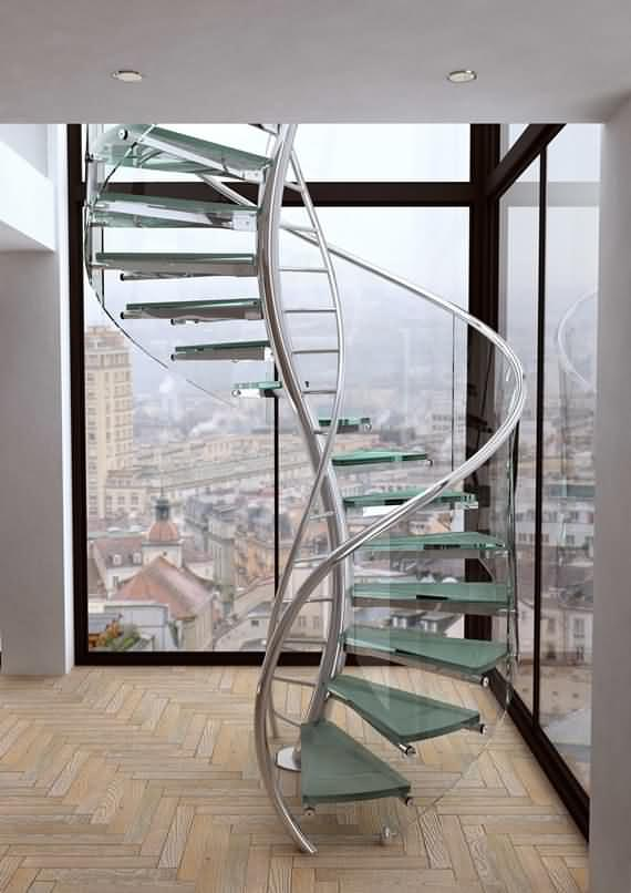 60 Very unique staircases ideas 26