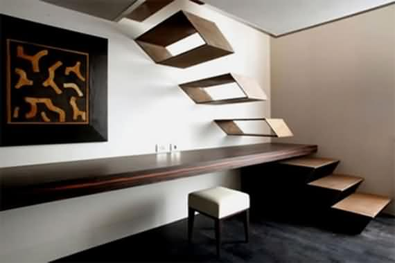 60 Very unique staircases ideas 3