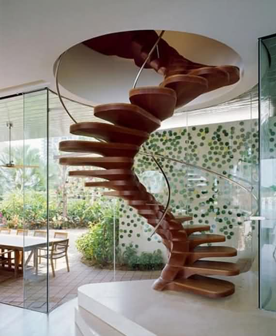 60 Very unique staircases ideas 33