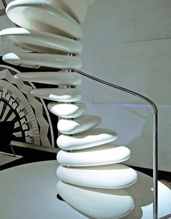 60 Very unique staircases ideas 36