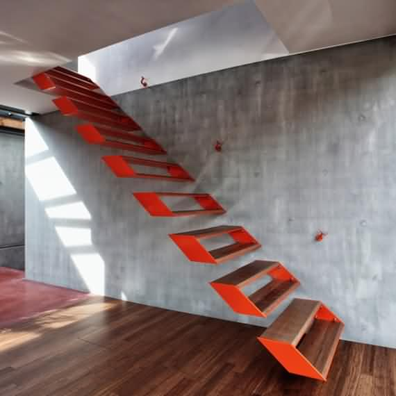 60 Very unique staircases ideas 39