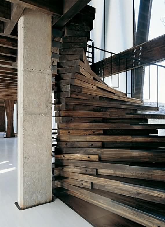 60 Very unique staircases ideas 40