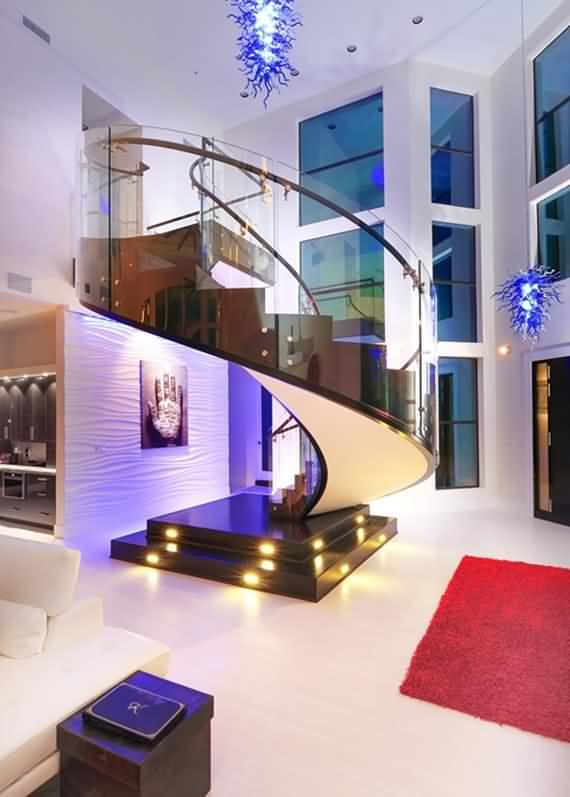 60 Very unique staircases ideas 46