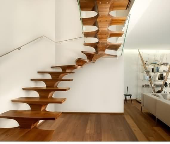 60 Very unique staircases ideas 49