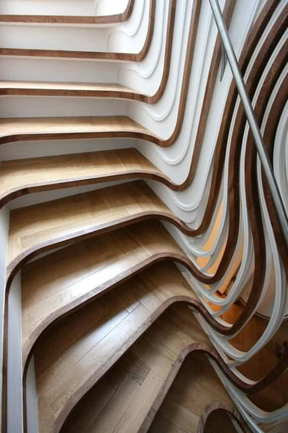 60 Very unique staircases ideas 5