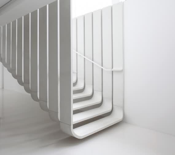 60 Very unique staircases ideas 53