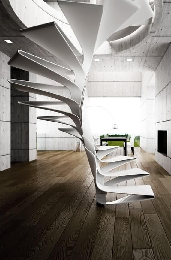 60 Very unique staircases ideas 54