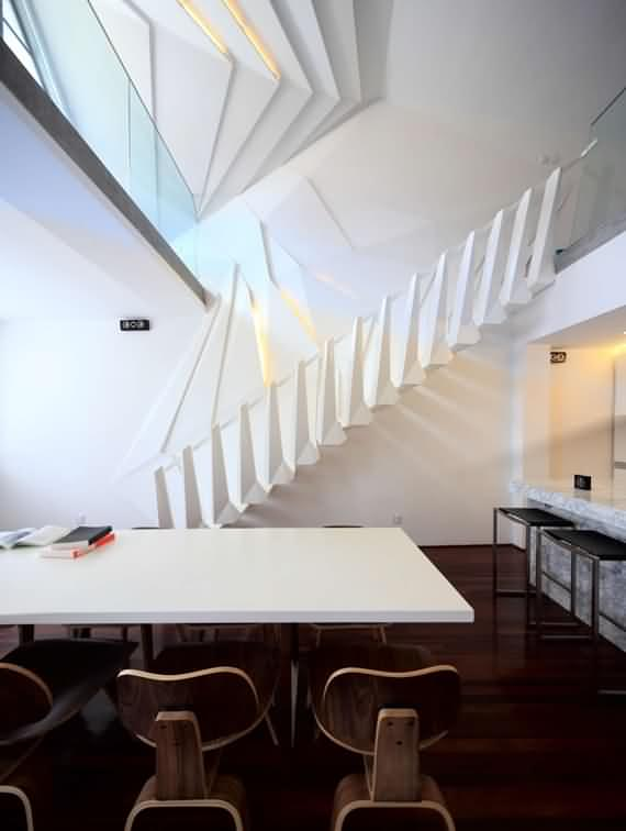 60 Very unique staircases ideas 55