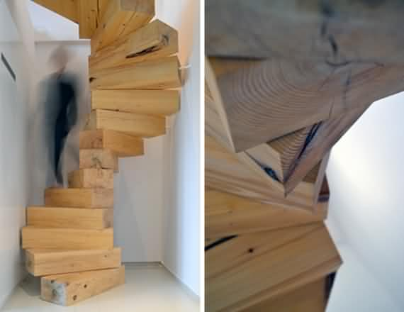 60 Very unique staircases ideas 56