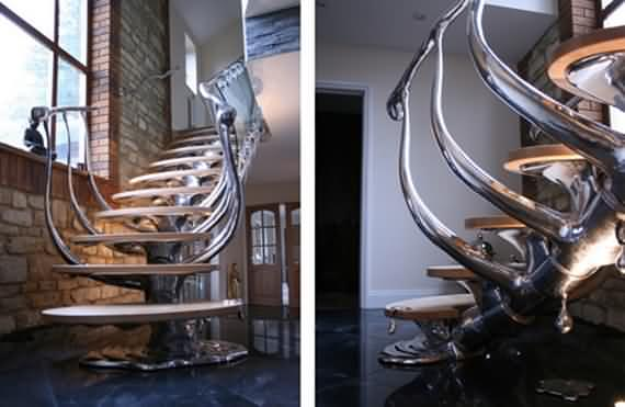 60 Very unique staircases ideas 57
