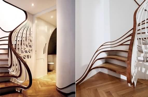60 Very unique staircases ideas 58