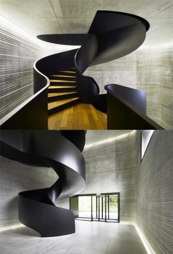 60 Very unique staircases ideas 59