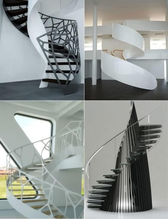60 Very unique staircases ideas 60