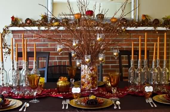 Gorgeous Thanksgiving Table Decorations, Thanksgiving Table Decorations, Table  Decorations, Thanksgiving, Thanksgiving Decorations