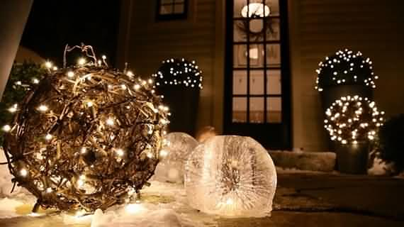 best outdoor christmas decorations ideas 36