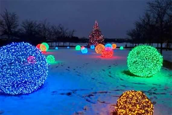 best outdoor christmas decorations ideas 5