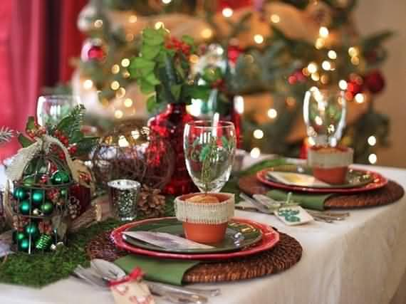 Christmas Table Setting And Centerpieces Ideas - 4 UR Break - Family ...