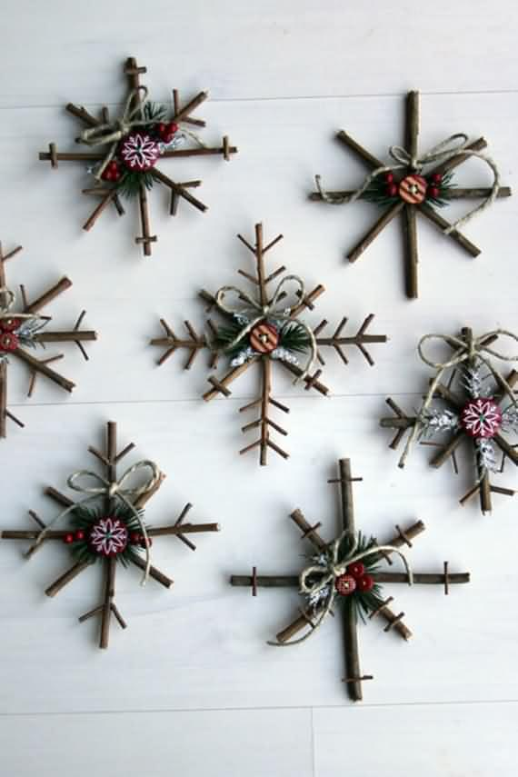 easy diy homemade christmas decorations 15