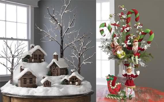 Delicieux Finally; Letu0027s Take A Look At Some Of These Fascinating Tabletop Christmas  Trees.