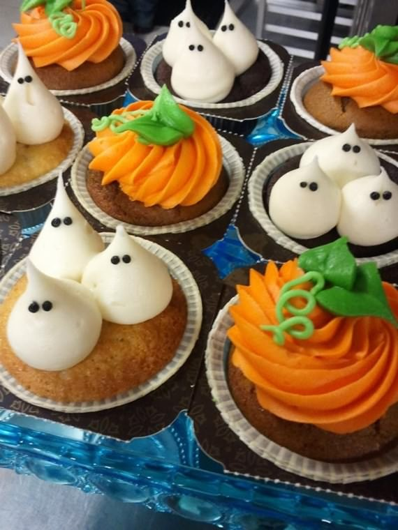 Creepy halloween cupcake ideas 4 ur break family inspiration magazine - Halloween decorations for cupcakes ...