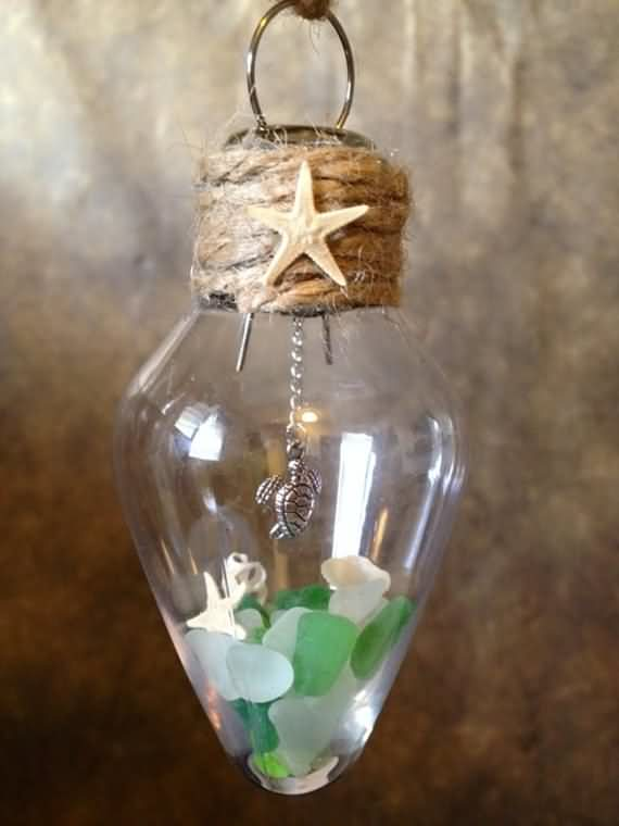 Diy Christmas Ornaments Made From Light Bulbs 4 Ur Break