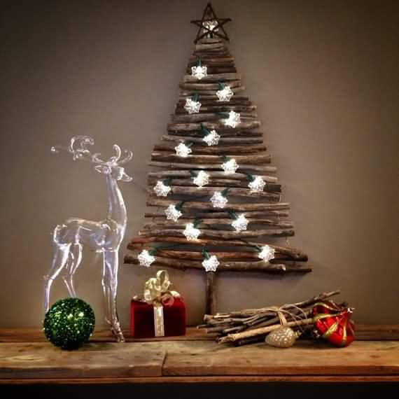 Wall Christmas Tree Decorating Ideas 4 Ur Break Family