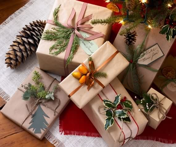 Unique Christmas Gift Wrapping Ideas