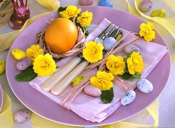 Best Easter table setting ideas | 4 UR Break - Family ...