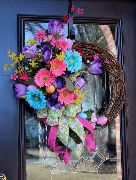 Gorgeous Easter Door Decor Ideas 4 Ur Break Family Inspiration