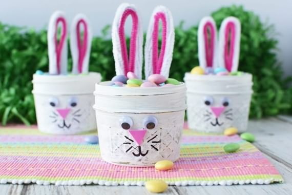 Recycling Jars Ideas For Easter