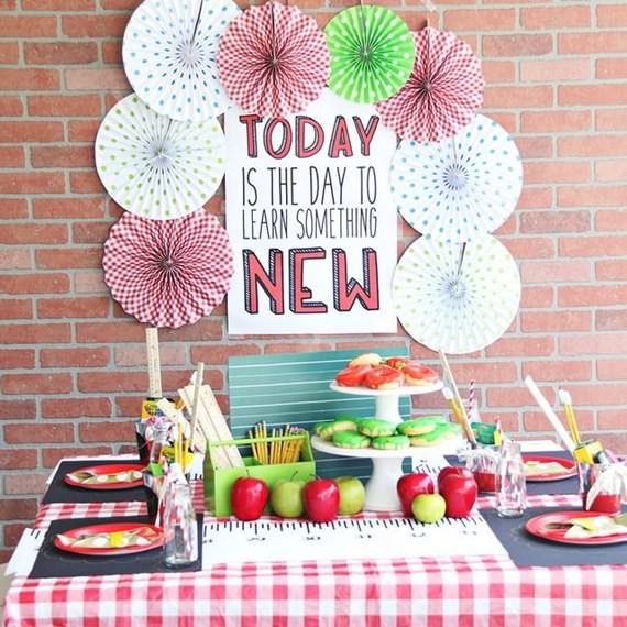Back To School Party Ideas , Back To School , Back To School Party , School Party Ideas , School , Party Ideas