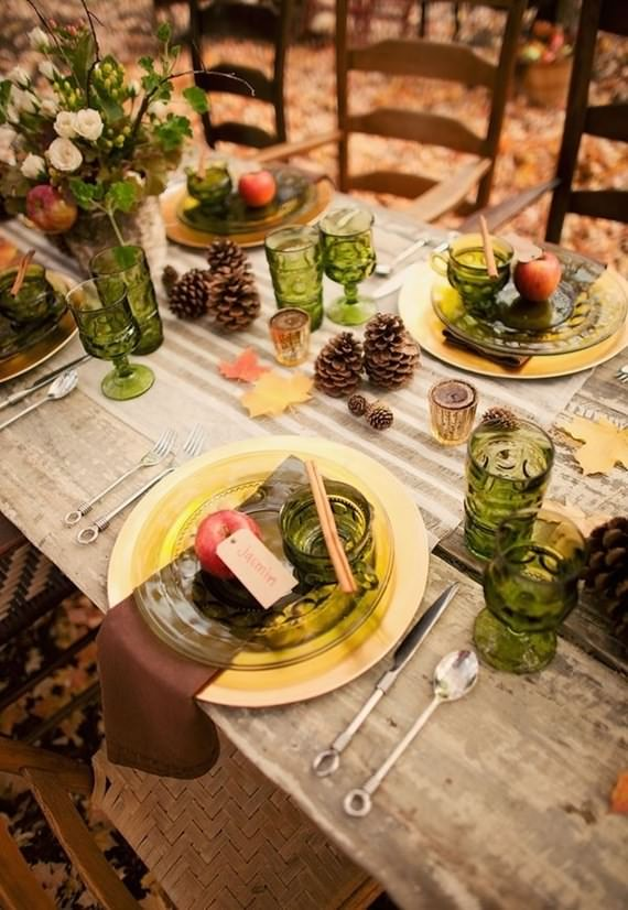 How To Set Your Fall Table , Set Your Fall Table , Fall Table , Fall , Table