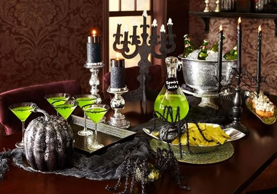 Tips To Set Your Halloween Table , Set Your Halloween Table , Halloween Table , Tips To Set Your Halloween , Table , Halloween