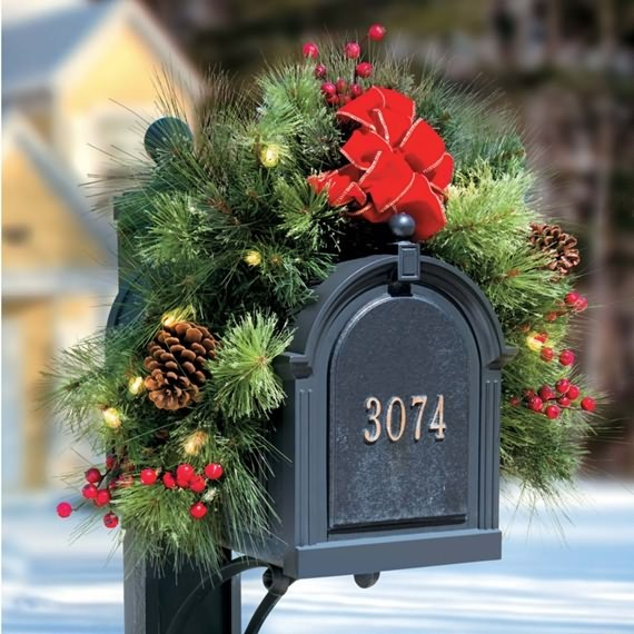 Christmas Mailbox Decorations Ideas 4 Ur Break Family