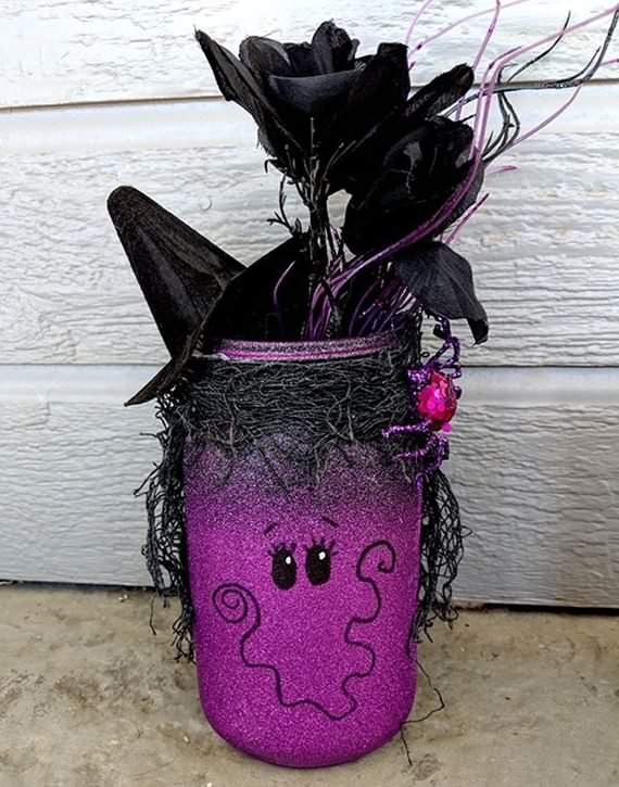 Recycling Jars Ideas For Halloween, Recycling Jars , Halloween , jars, Recycling, Recycling Jars For Halloween